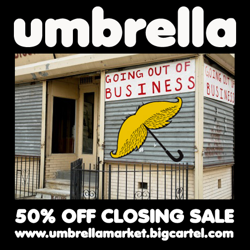 UMBRELLA SALE
